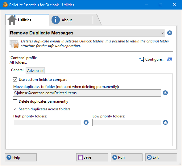 Remove Duplicate Messages